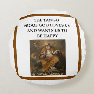tango round pillow