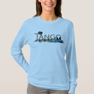 Tango shoes and hat with floor T-Shirt