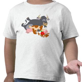 Tango ! ! (taureau et vache de bande dessinée) T-s T-shirts