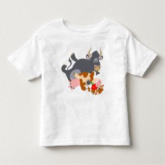 Tango ! ! (taureau et vache de bande dessinée) tee shirt