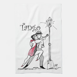 Tangueritos Couple Kitchen Towel