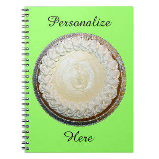 Tangy Key Lime Pie Fun Notebooks