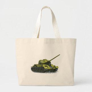Tank Apg Russian Tank Large Tote Bag