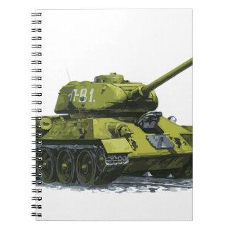 Tank Apg Russian Tank Notebooks