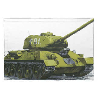 Tank Apg Russian Tank Placemat