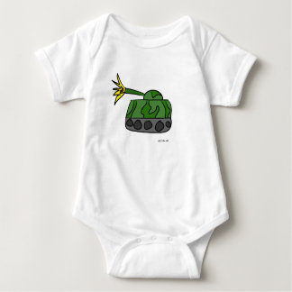 Tank Attack! Baby Rompers