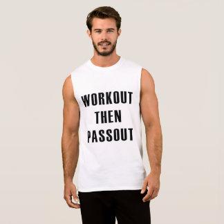 tank d'entraînement WorkOut then Passout