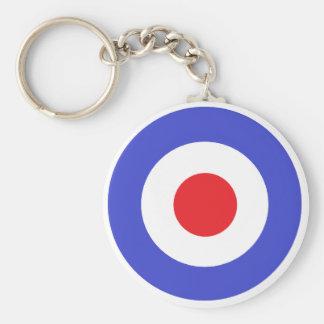 Tank Girl Basic Round Button Keychain