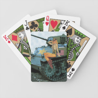 Tank Girl Pin-Up Playing Cards