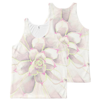 Tank Top - Subtle Succulent
