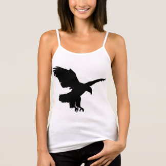 TANK TOP WITH EAGLE AND KANJI SYMBOL FOR FREEDOM