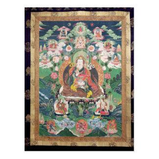 Tanka of Padmasambhava, c.749 AD Postcard