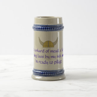 Tankard of Mead Beer Stein
