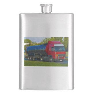 tanker truck hip flask