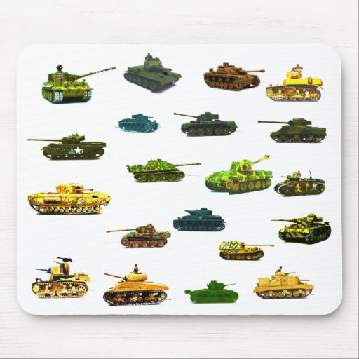 Tanks a  Lot Mousematt. Mouse Pad