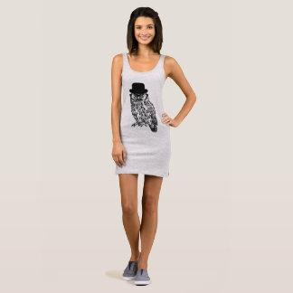 """Tanktop dress """"GENTLEMAN OWL """""""