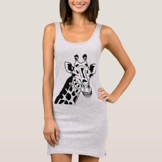 """Tanktop dress """"GRINNING GIRAFFE """""""