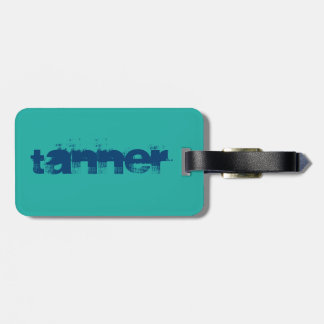 Tanner Name Tag for Luggage Tag