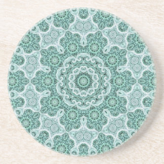 Tantalizing in teal coaster