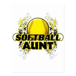 Tante du base-ball (croix) .png cartes postales