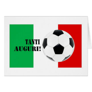 Tanti Auguri - Happy Birthday in Italian Card