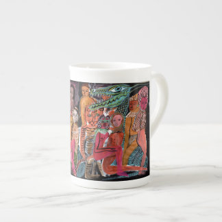 Tantric Carnival Tea Cup