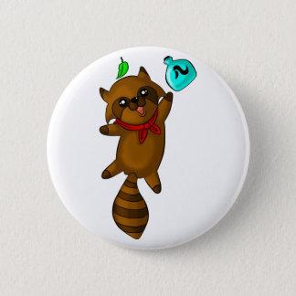 tanuki 2 inch round button