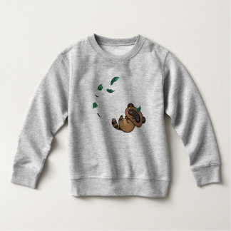 Tanuki and Leaves Sweatshirt
