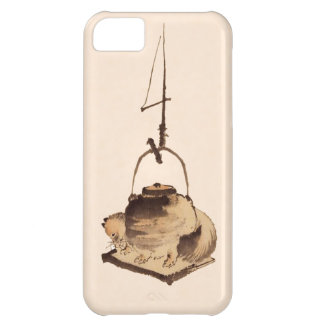 Tanuki kettle cover for iPhone 5C