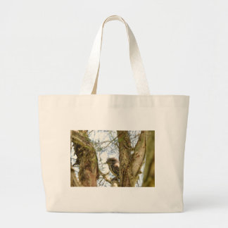 TANY FROGMOUTH QUEENSLAND AUSTRALIA LARGE TOTE BAG