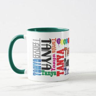 Tanya Coffee Mug