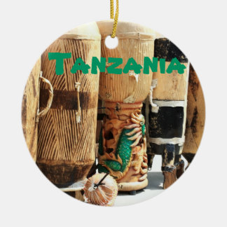 Tanzania African Bongos Christmas Ornament