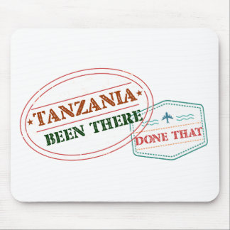 Tanzania Been There Done That Mouse Pad