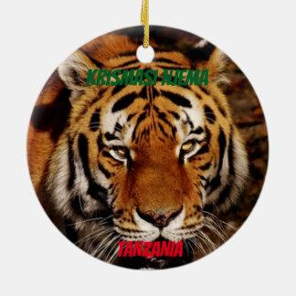 Tanzania Custom Lion / Elephant Ornament