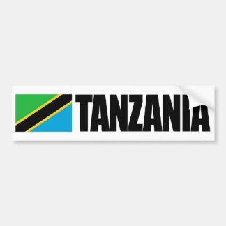 Tanzania Flag Bumper Sticker