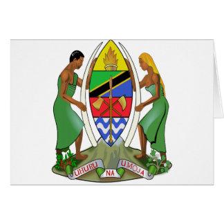 Tanzania Flag Card