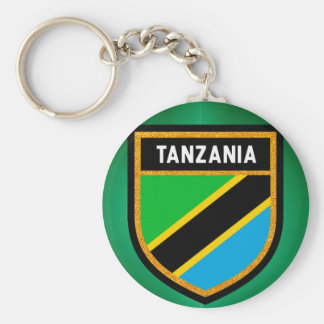 Tanzania Flag Keychain