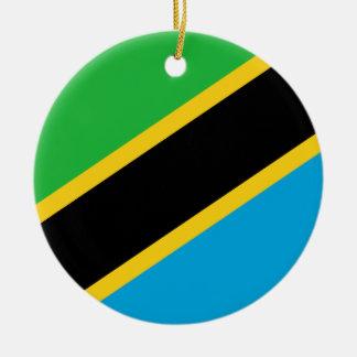 Tanzania Flag Ornament