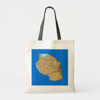 Tanzania Map Bag