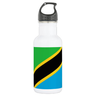 Tanzania National World Flag 532 Ml Water Bottle