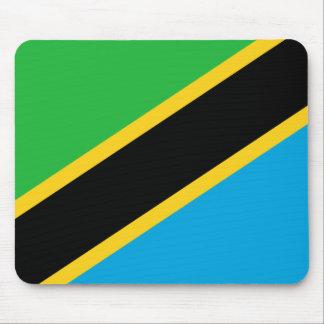 Tanzania National World Flag Mouse Pad