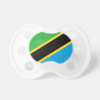 Tanzania National World Flag Pacifier