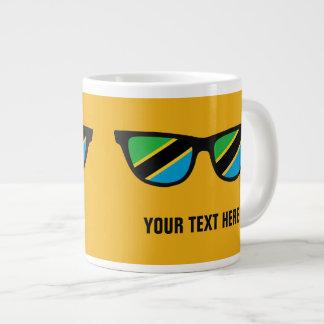 Tanzania Shades custom mugs Jumbo Mug