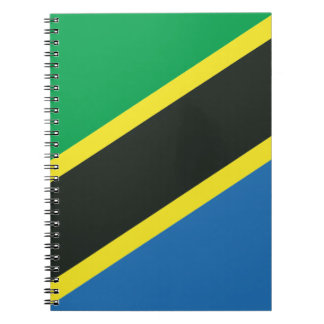 Tanzanian flag notebook