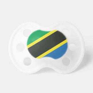 Tanzanian flag pacifier