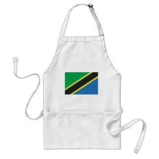 Tanzanian flag standard apron