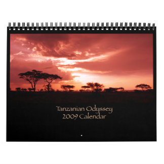 Tanzanian Odyssey Calendar