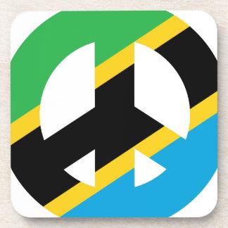 Tanzanian Peace Symbol Coaster