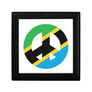 Tanzanian Peace Symbol Gift Box