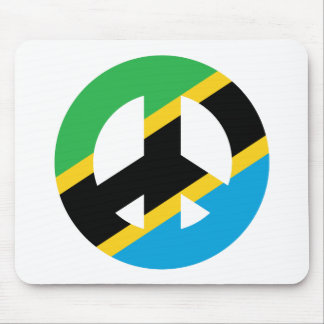 Tanzanian Peace Symbol Mouse Pad